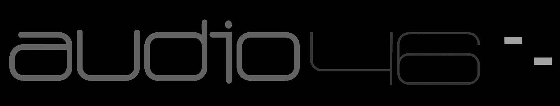 Audio 46 logo bw
