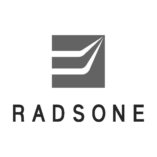Radsone logo bw